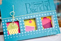 Cards: Punch Art / Card candy made with punches / by Cathy Cook