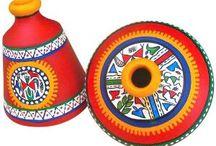 Hand Painted Bowls/ Pots