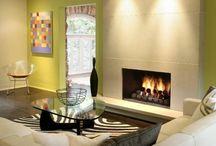 Seminee ingenioase /  Ambianta relaxanta, confortabila si plina de stil
