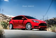 2014 Ford Focus ST3 Fitted with 19 Inch BD-3's in Silver