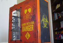 Biohazard SP-058-A casemod