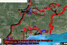 War in Ukraine 31/08/2014 Donetsk Maruipol The Map Fighting.