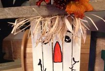 Fall crafts / by Heather Baggett