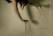 elemental art. espressione primordiale. / organic/ primitive/ elemental...expressions of art. / by Linda B. Savage