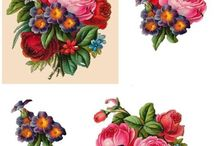 kwiaty 3D