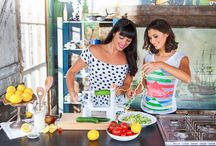 Healthy and Delicious: Hemsley & Hemsley / Melissa and Jasmine Hemsley know that healthy food doesn't have to be dull. Their books, The Art of Eating Well and Good + Simple, are packed with inspiring, innovative recipes that will nourish you inside and out. We are excited to welcome them as The Happy Foodie guest pinners.