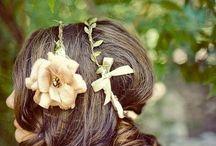 flower hairaccessory / お花のヘアアクセサリー