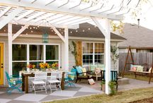 Pergola ideas / Keen to have a Pergola over the deck to provide protection from weather and also complete the look of the house