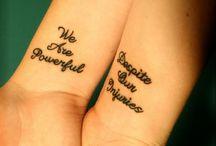 Tattoos / by Alaina Bower