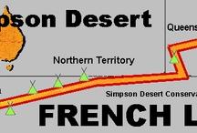 Simpson Desert / Simpson Desert crossing research