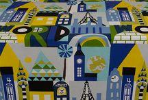 Fabrics / All of the fabrics that I love!