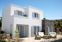 Kea Cyclades residential development VARC studio 3D renderings