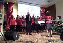 First Baptist church choir in Mission Tx / by Crystal Rangel