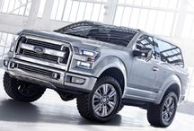 Ford Broncos / Just a concept but how cool would this be to come from the Ford Special Vehicles Team?