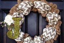 Wreaths / by Kelly Serfes