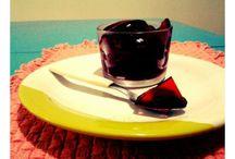 chá e gelatina