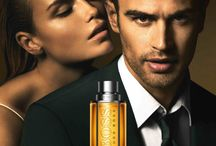 Men's cologne advertising