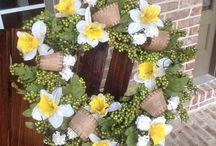 Spring Wreaths / Beautiful Spring Wreaths
