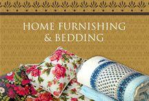Home Furnishings / Shop- Home Furnishing, Bedding, Cushiions, Duvets, Runners and Wall Art at Virasat.  Visit: http://thevirasat.com/shop/