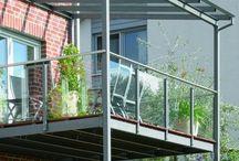 Terrace railing
