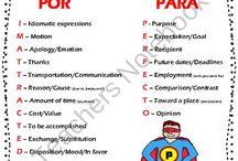 Realidades 2: 7B La Barbacoa / por/para Usted(es) Commands, ir de camping