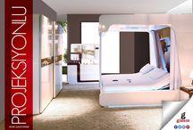 Projeksiyonlu Karyola Yatak Odası / Projeksiyonlu Karyola Yatak Odası http://www.gizemmobilya.com.tr/yatak-odasi-takimlari/mobilya-projeksiyonlu-karyola-yatak-odasi #projeksiyonlu #karyola #yatakodası #yatakodasıtakımı #mobilya #furniture #comfortable #sizdeevinizegizemkatın #kısıkköymobilya #karabağlarmobilya