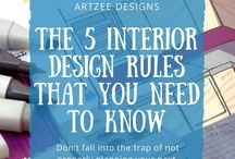Interior Design Tips / A collection of interior design tips and tricks.