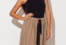Spódnice / Długie i krótkie, eleganckie i radosne spódnice