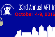 2016 APT Conference / Save the Date to attend the world's greatest gathering of Play Therapists at the 2016 Association for Play Therapy Annual Conference in Louisville, Kentucky, October 4-9! http://goo.gl/fgupWM / by Pam Dyson Play Therapy