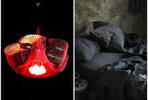 Luxe Living with willowlamp / #customlighting #lightingdesign