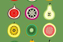 Illustrazioni frutta