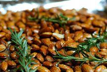 Almond recipes / by Jeni Berg