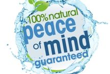 Peace of Mind / Removing harmful chemicals and using more efficient, safer alternative products for disinfecting/sanitizing, cleansing/deodorizing, first aid, personal care and animal care.