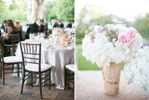 Wedding & Reception Table Settings / Wedding & Reception Table Settings