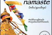 "Inspiration / Inspiration from Nepal with the ""Nepali Word of the Week."" / by Aid Through Trade"