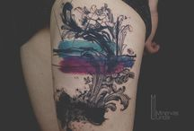 A collection of Tattoos from other artists. / Sweet amazing tattoos that i like and appreciate for their aesthetic pleasure to my oculars!