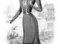 1890's Women's Fashion