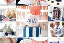 Blue Wedding Colour Theme / Wedding Colour Inspirations for Blue Tones & Hues - incl Navy Blue, Tiffany Blue, Light Blue, Sky Blue, Smokey Blue, Midnight Blue, Royal Blue