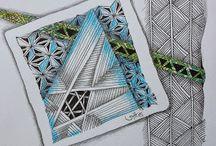 Zentangle Doodle / Zentangle Doodle