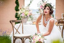 Bridal Fashion : Editorial Style / The beautiful wedding dresses featured in articles and editorials on BRIDE.Canada.