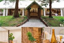 The Barnquee & Applestore / Fabulous pictures of our brand new wedding venues nestled in the Myres magical woodland.