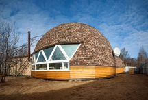 Spheric House / Spheric roof, skydome