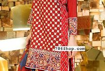 Pakistani Cambric / Buy Pakistani Cambric and Cotton dresses online. Fully stitched Cotton clothing.