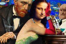 Surrealizm- postacie z obrazów
