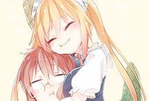 Dragon Maid and Monster Girls