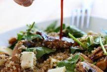 quinoa con espinacas queso de cabra