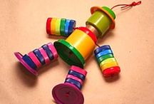 Recycled Plastic Lid Crafts