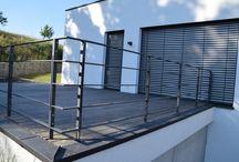 Geländer Terrasse unten