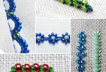 Embroidery bead