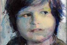 Kunst van mijn leraren / Schilderijen van de kunstenaars van wie ik les heb (gehad)